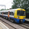 London Overground Class 378 Electrostar no. 378210 arriving at Gospel Oak on a North London Line service, 28.05.2019.