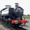 GWR 9400 Class 0-6-0 pannier tank no. 9466 taking part in the Buckinghamshire Railway Centre steam gala, 27.05.2019.