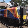 South Western Railway Class 450 Desiro no. 450019 arriving at Hounslow on a Hounslow Loop service, 21.05.2019.