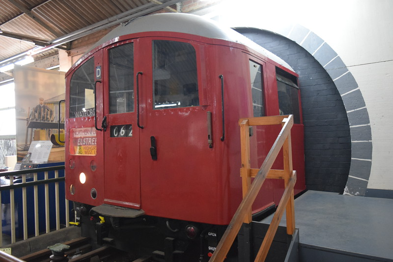 London Transport 1938 Stock Cab from set 062 at the Buckinghamshire Railway Centre, 27.05.2019.