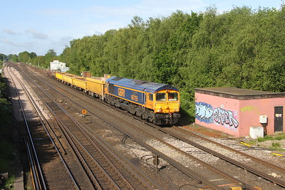 66755 Worting Junction 27/05/19 6Y48 Eastleigh to Hoo Junction