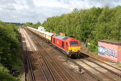 67004 Worting Junction 27/05/19 1Z47 Southampton to London Victoria