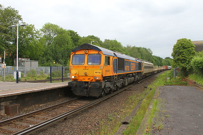 66732 Micheldever 30/05/19 6O80 Eastleigh to Dollands Moor