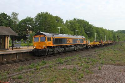 66708 Micheldever 24/05/19 7Y44 Hoo Junction to Eastleigh