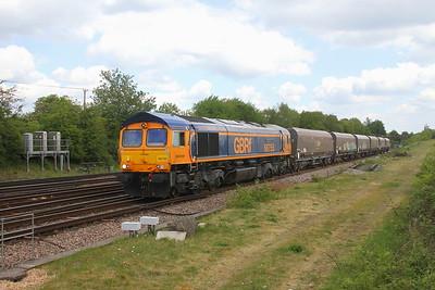 66755 Worting Junction 24/05/19 6Y42 Wellingborough to Eastleigh
