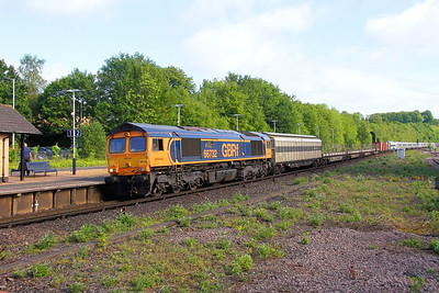 66732 Micheldever 30/05/19 6X80 Dollands Moor to Eastleigh with 802206 and 802205