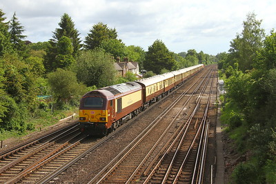 67021 Worting Junction 27/05/19 on the rear of  1Z47 Southampton to London Victoria