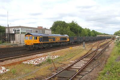 66715 Basingstoke 30/05/19 4Y19 Mountfield to Southampton Western Docks
