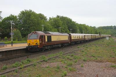 67021 Micheldever 27/05/19 5Z47 Stewarts Lane to Southampton