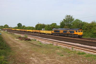 66708 Worting Junction 24/05/19 6Y48 Eastleigh to Hoo Junction
