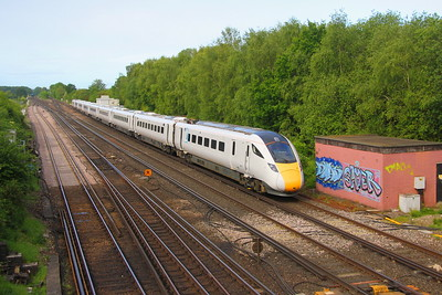 800101 Worting Junction 27/05/19 5X82 Eastleigh to Acton