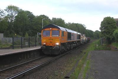 66775 Micheldever 30/05/19 7Y43 Eastleigh to Hoo Junction