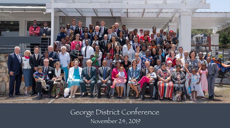 George District Conf Nov 24, 2019