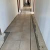 Chapel Tile Hallway