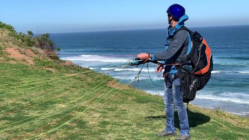 Paragliding at Wildernes