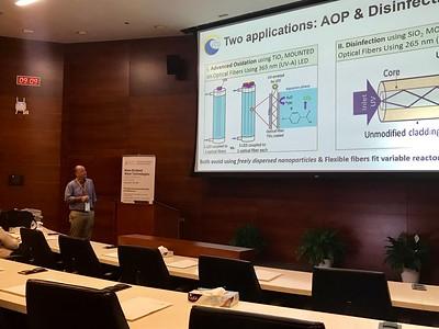 Paul Westerhoff Presenting NEWT Research in Saudi