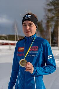 Nina Kärnä, kultaa