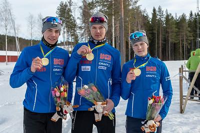 NEM pojat kultaa. Seeti Salonen, Akseli Virtanen, Niklas Ekström
