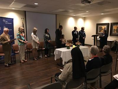Dr. Ross President Commissioning Ceremony (April 2019)