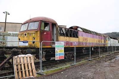 56037 Electro Motive Yard, Longport  28/12/19