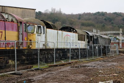 56065 66048 Electro Motive Yard, Longport  28/12/19
