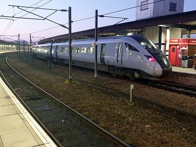 802207 0750/1P14 Manchester Airport-Newcastle at York  30/12/19