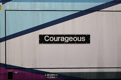 68029 'Courageous' York Holding Sidings   30/12/19
