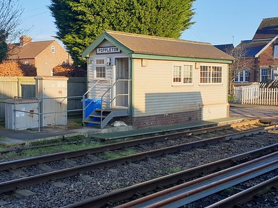 Poppleton Signal Box   30/12/19