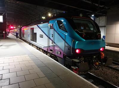 68027 'Splendid' 1723/1E43 Liverpool Lime Street-Scarborough seen at Leeds   29/12/19