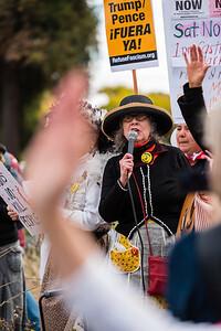 Protest Pence - Trump's Homophobia & Misogyny Czar