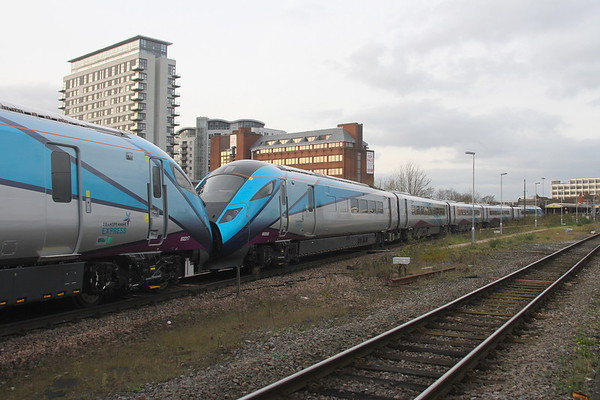 802202 Basingstoke  20/11/19 5X53 Eastleigh to Doncaster