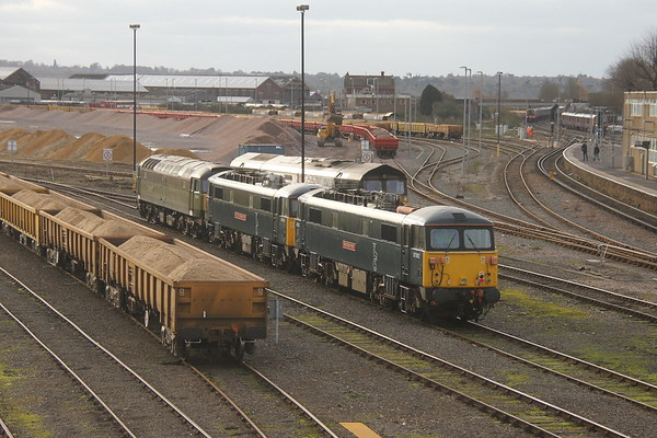 87002 Eastleigh 20/11/19 with 86101, 47810 and 66849