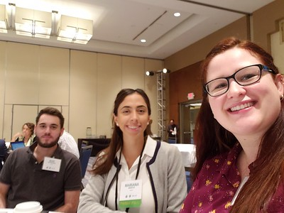 NEWT Students Alec Nienhauser, Mariana Marcos-Hernandez, Elisabeth Thomas