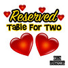We made SPECIAL TABLES available for a few lucky couples!!!