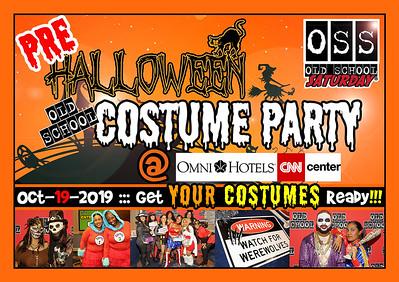 Pre-Halloween Costume Party @ The Omni ::: Oct.19.2019 :: www.oldschoolsaturday.com or 678.701.6114