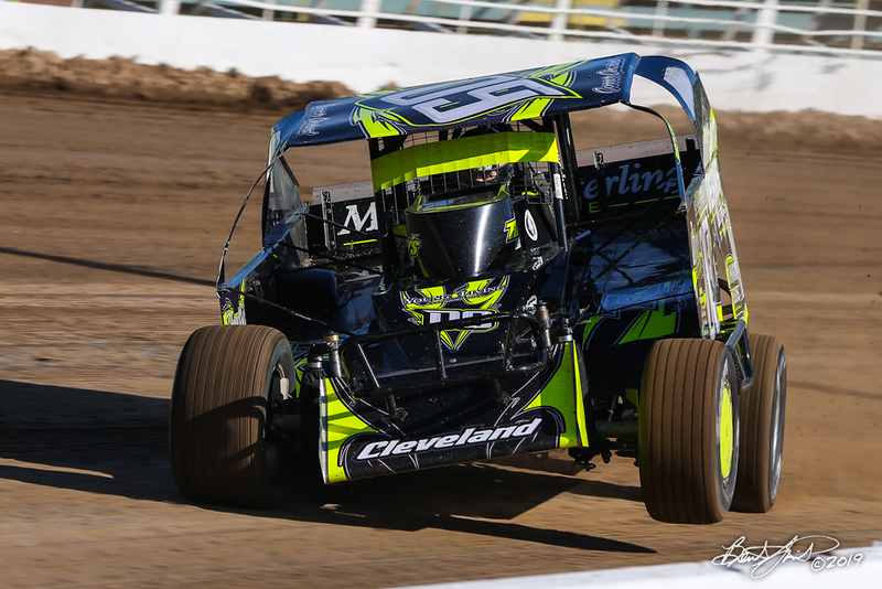 Chevy Performance 75 - NAPA Auto Parts Super DIRT Week XLVIII - Oswego Speedway - 09 Connor Cleveland