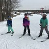 Elli, Mia and Peyton get ready to hit the hills
