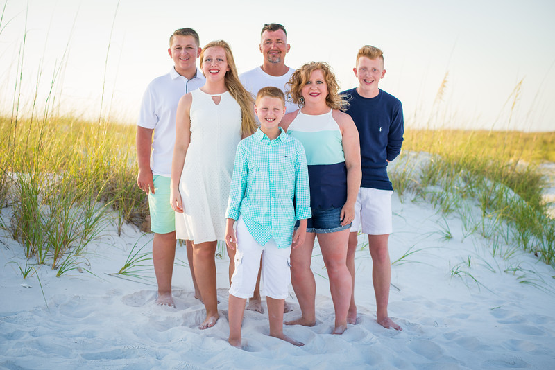 2019.05.30 - DJ, Nichole, Hannah, Peyton and Griffin, Bean Point Beach, Anna Maria Island, Bradenton, FL