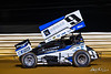 Greg Hodnett Classic- Pennsylvania Sprint Car Speedweek - Port Royal Speedway - 9 Ryan Linder