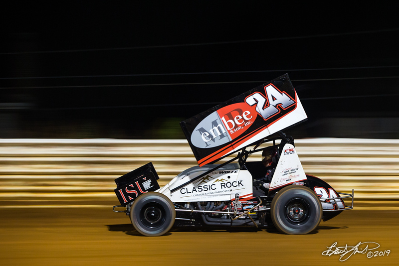 Greg Hodnett Classic- Pennsylvania Sprint Car Speedweek - Port Royal Speedway - 24 Lucas Wolfe