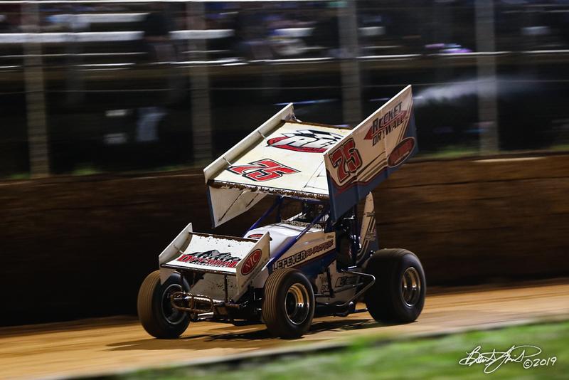Greg Hodnett Classic- Pennsylvania Sprint Car Speedweek - Port Royal Speedway - 75 Chase Dietz