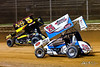 Greg Hodnett Classic- Pennsylvania Sprint Car Speedweek - Port Royal Speedway - 5 Dylan Cisney, 75 Chase Dietz