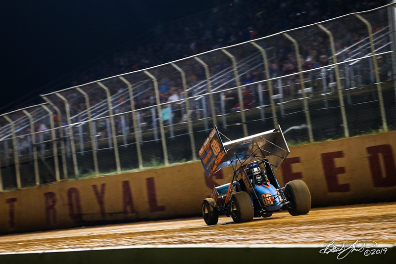 Greg Hodnett Classic- Pennsylvania Sprint Car Speedweek - Port Royal Speedway - 69K Lance Dewease