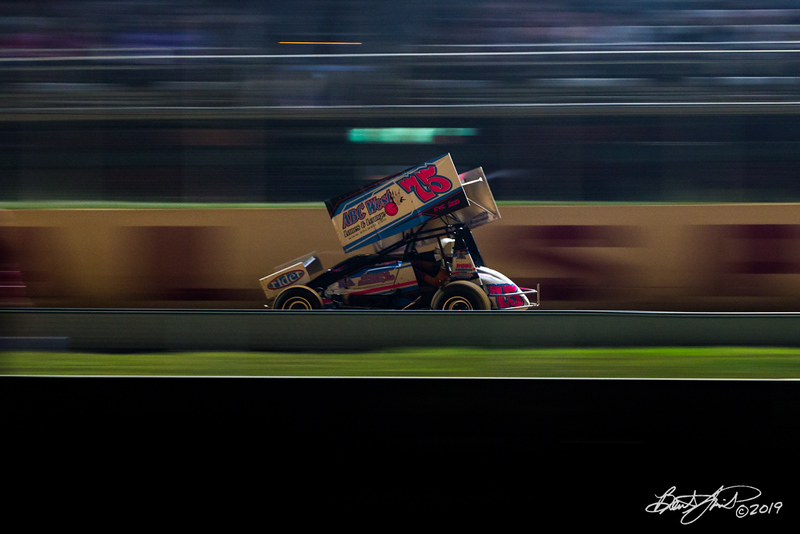 Greg Hodnett Classic- Pennsylvania Sprint Car Speedweek - Port Royal Speedway - 75 Nicole Bower