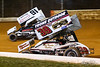 Greg Hodnett Classic- Pennsylvania Sprint Car Speedweek - Port Royal Speedway - 91 Kyle Reinhardt, 39 Cory Haas