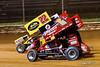 Greg Hodnett Classic- Pennsylvania Sprint Car Speedweek - Port Royal Speedway - 22 Anthony Macri, 1X Chad Trout