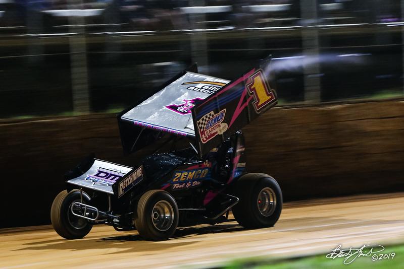 Greg Hodnett Classic- Pennsylvania Sprint Car Speedweek - Port Royal Speedway - 1 Logan Wagner