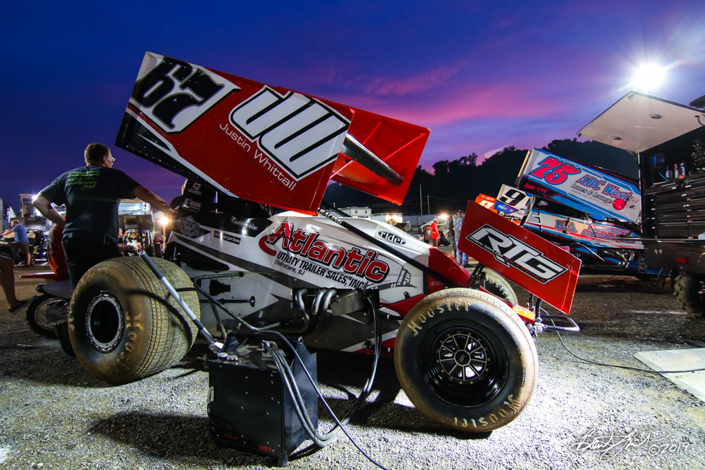 Greg Hodnett Classic- Pennsylvania Sprint Car Speedweek - Port Royal Speedway - 67 Justin Whittall