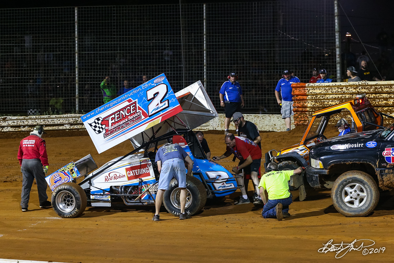 Greg Hodnett Classic- Pennsylvania Sprint Car Speedweek - Port Royal Speedway - 2 AJ Flick