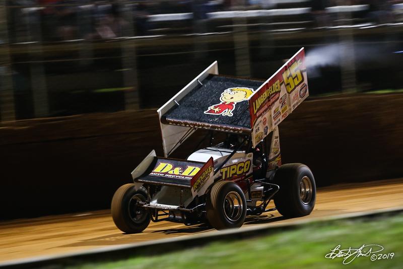 Greg Hodnett Classic- Pennsylvania Sprint Car Speedweek - Port Royal Speedway - 55K Robbie Kendall